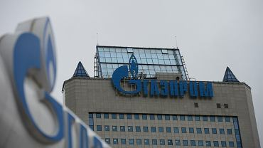Główna siedziba Gazpromu w Moskwie.