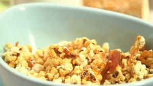 Popcorn w karmelu