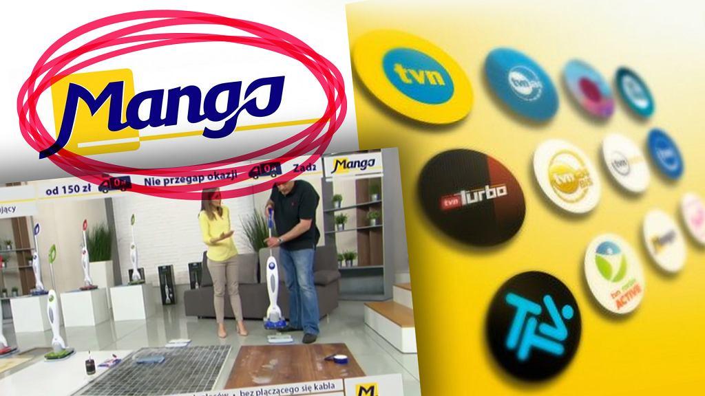 Telezakupy Mango poza TVN