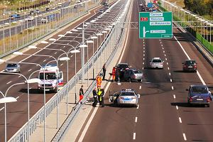 Wypadek na autostradzie - co robi�? Poradnik