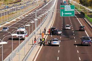 Wypadek na autostradzie - co robić?