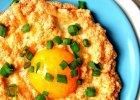 Jajeczno-serowe gniazdka