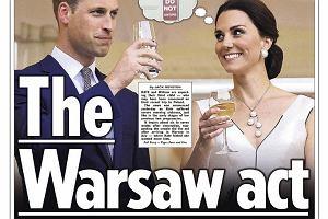 Książę William, księżna Kate w 'The Sun'
