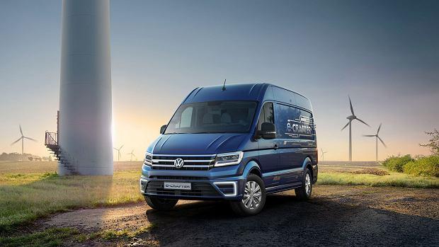 Volkswagen Crafter | Wersja elektryczna w planach