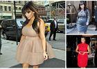 Kim Kardashian zosta�a mam�! Z tej okazji wybieramy jej 10 najlepszych ci��owych stylizacji [SONDA�]