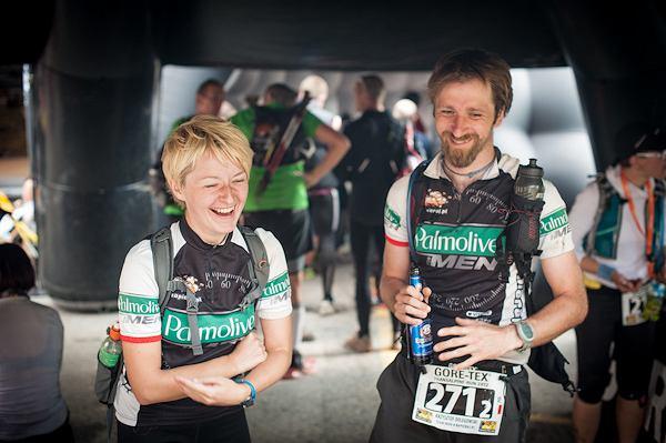 8. Gore-tex Transalpine Run, Magda Ostrowska-Dołęgowska i Krzysiek Dołęgowski byli jedynymi Polakami na tej ekstremalnej imprezie biegowej.