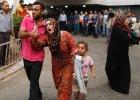 Izraelskie czo�gi ostrzela�y Stref� Gazy. Co najmniej 20 zabitych