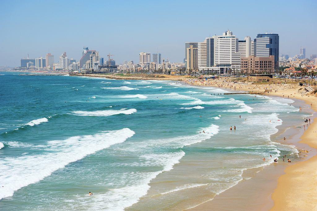 Wybrzeże z widokiem na Tel Awiw