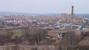 Kielce, kwiecień 2002 roku, osiedle Ślichwice