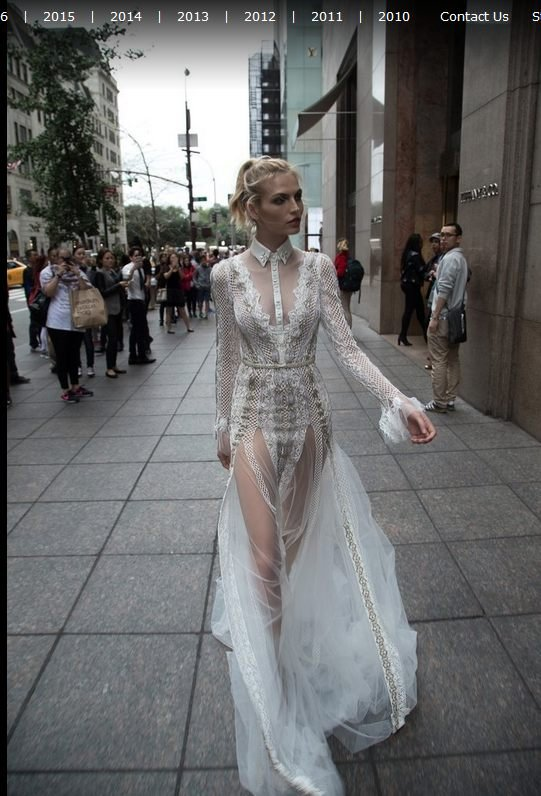 Suknia �lubna z kolekcji Inbal Dror 2016