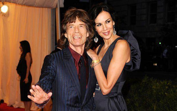 L'Wren Scott i Mick Jagger
