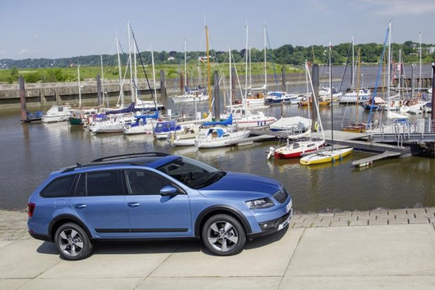Scout | Skoda Octavia jedzie na ob�z