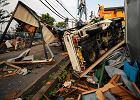 Tornado w Japonii. Kilkadziesi�t os�b rannych, wiele dom�w grozi zawaleniem [ZDJ�CIA]