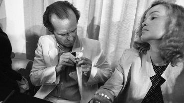 Jack Nicholson i i Jessica Lange w Cannes w 1981 roku
