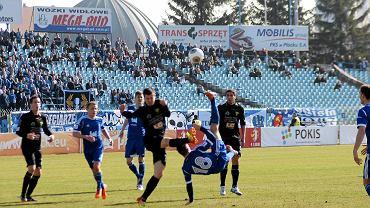 Piłka nożna, I liga. Wisła Płock - Górnik Łęczna 0:1