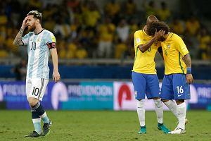 3a3ebb7f2 El. MŚ 2018. Brazylia zlała Argentynę. Kolejny słaby mecz Leo Messiego  [ZDJĘCIA