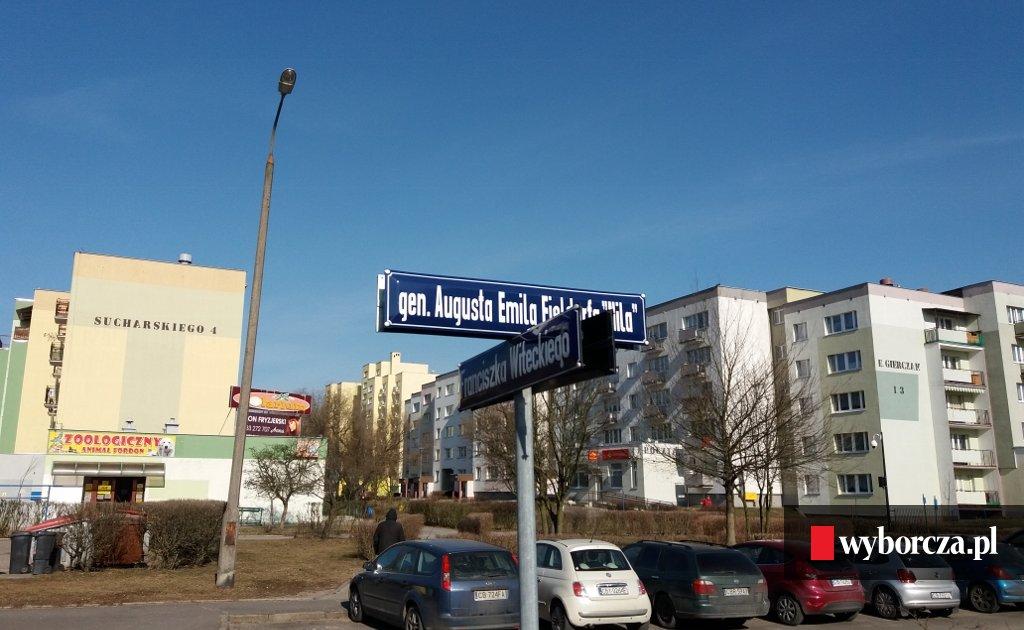 Drogowcy Zdekomunizowali Bydgoszcz Google Jeszcze Nie Zdążył