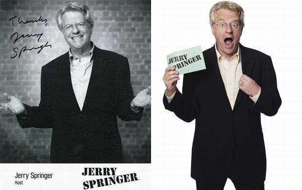 Is jerry springer bisexual