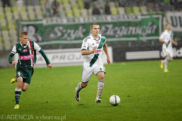 Zdjęcie numer 4 w galerii - Piłkarz Piasta Marcin Pietrowski: Lechia w końcu