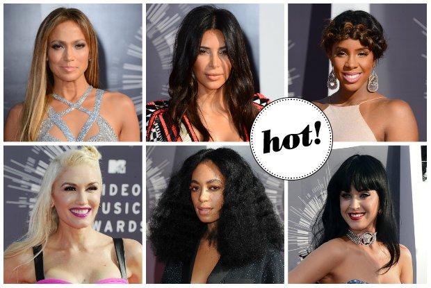 MTV Video Music Awards 2014: Najciekawsze fryzury i makija�e gwiazd