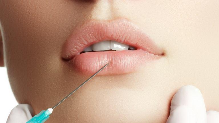 Powiększanie objętości ust