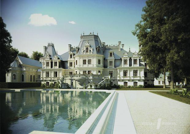 Tak pałac ma wyglądać po rewitalizacji