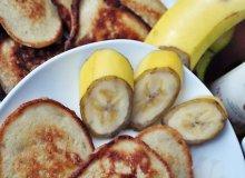 Placuszki bananowe - ugotuj