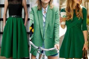 Kolor zielony - sprawd� czy b�dzie Ci w nim dobrze!