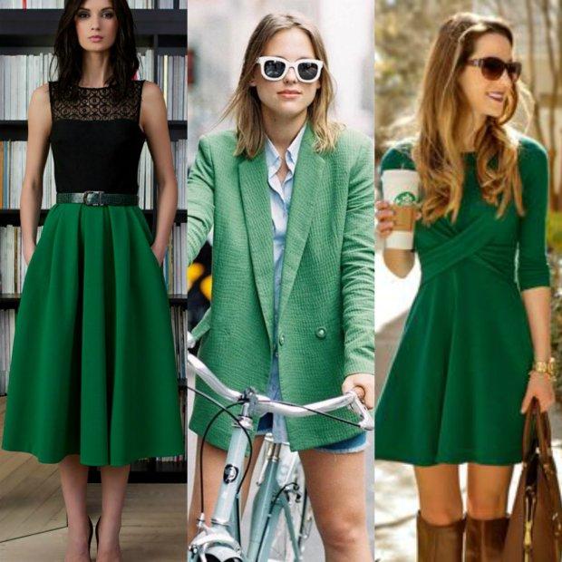 Kolor zielony - sprawdź czy będzie Ci w nim dobrze!