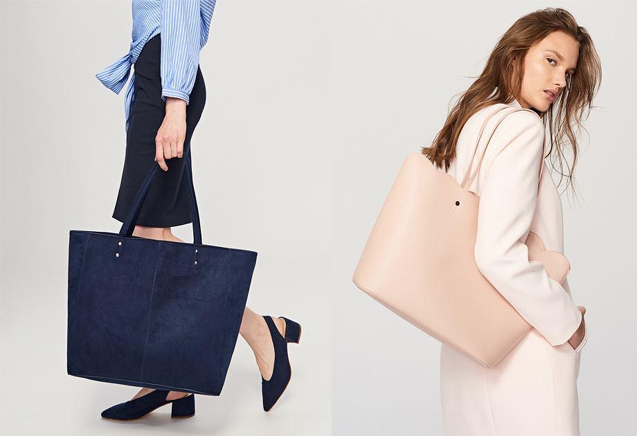 Reserved torebki typu shopper