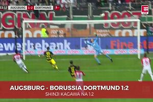Bundesliga. Augsburg - BVB. Shinji Kagawa na 1:2 [ELEVEN SPORTS]