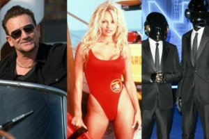 Bono, Pamela Anderson, Daft Punk