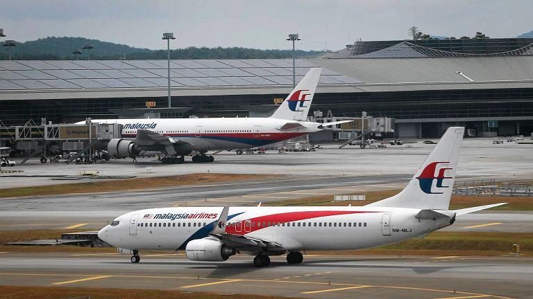 Boeingi malezyjskich linii lotniczych