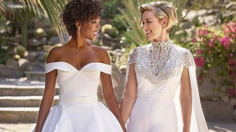 Samira Wiley i Lauren Morelli