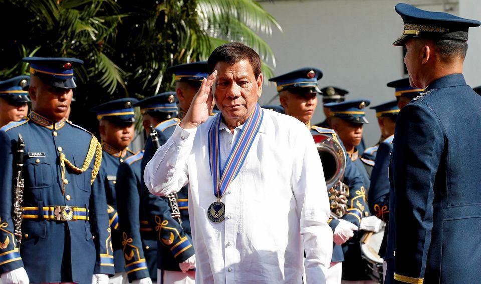 Prezydent Filipin Rodrigo Duterte