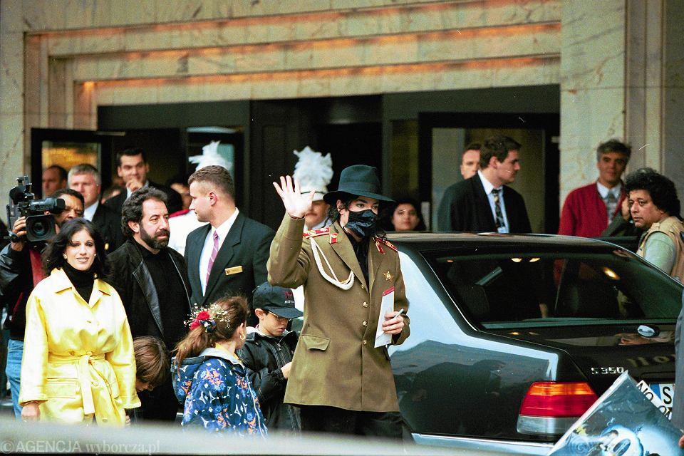 Wizyta Michaela Jacksona w Warszawie w 1996 roku