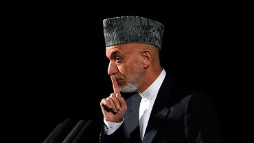 Hamid Karzaj, prezydent Afganistanu
