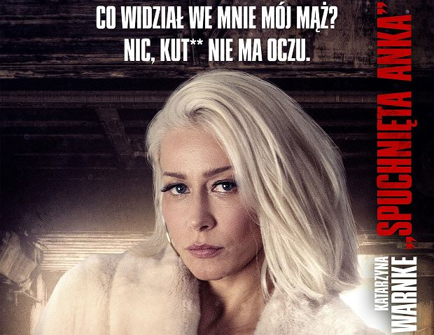 'Kobiety Mafii' - plakat
