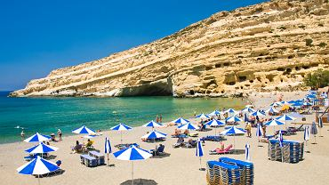 Wyspy greckie - Kreta. Matala