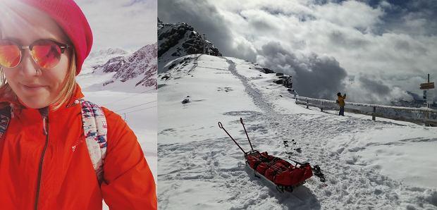 Złota tyrolska jesień, a 6 minut później - atak zimy!