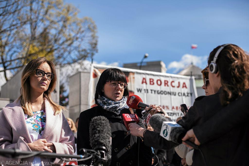 Kaja Godek z komitetu 'Zatrzymaj Aborcję'