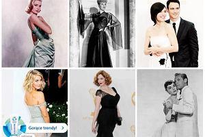 Aktorki pozuj� na gwiazdy starego Hollywood - dos�ownie! Czerwony dywan z rozdania Emmy 2013