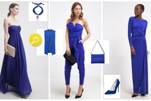 Kobaltowe ubrania i dodatki - wielki przegl�d