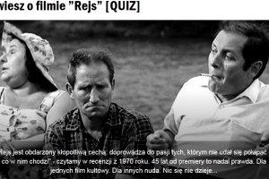 """Dziś rocznica premiery kultowego filmu """"Rejs"""". Sprawdź, jak dobrze go znasz! [quiz]"""