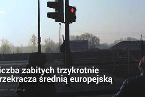 """Polska jest jednym wielkim """"czarnym punktem"""" Europy. Na naszych drogach ginie najwięcej pieszych"""