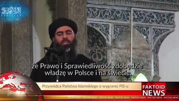Faktoid News. Pa�stwo Islamskie zaniepokojone: PiS przejmuje w�adz� nad �wiatem [WIDEO]