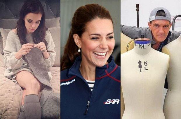 """Co ma wspólnego Antonio Banderas z blogerkami modowymi? Słabość do ubrań. Anna Wendzikowska uwielbia robótki ręczne. Gdy jednak dowiedzieliśmy się, czym """"po godzinach"""" zajmuje się księżna Kate, opadły nam szczęki. Drobna, delikatna Kate nurkuje! Zobacz, jakie hobby mają gwiazdy."""