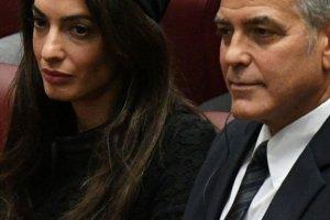 Amal i George Clooney na spotkaniu z papieżem Franciszkiem