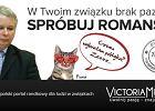Przeprosiny po skandalicznej reklamie z L. Kaczyńskim. Chodziło o Jarosława