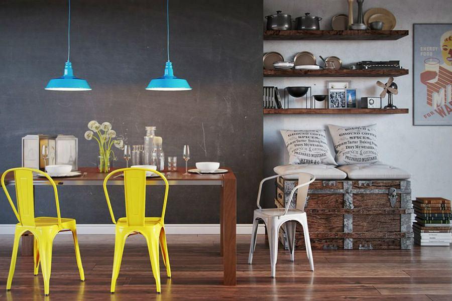 Krzesła inspirowane projektem Tolix [TREND]
